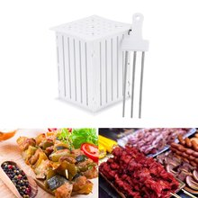 Free Shipping 36set/lot brochette express Easy Kebab Maker, Making Up to 36 kabob Skewers With Precision And in under 2 Min
