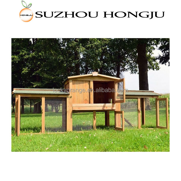Wholesale Simple Design Outdoor House For Rabbit
