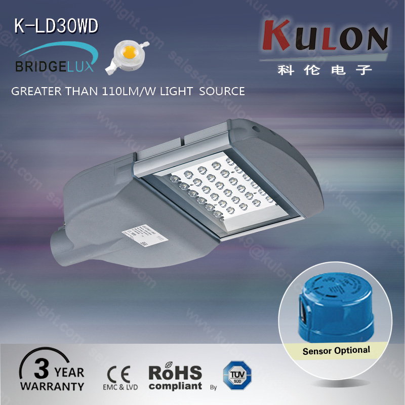 car parking lot road residential 30w led street light