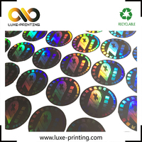 Xiamen OEM UV 3D secure genuine hologram sticker