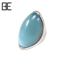 Good quality Health Titanium Jewelry Single Stone Ring Designs Fashion Rings