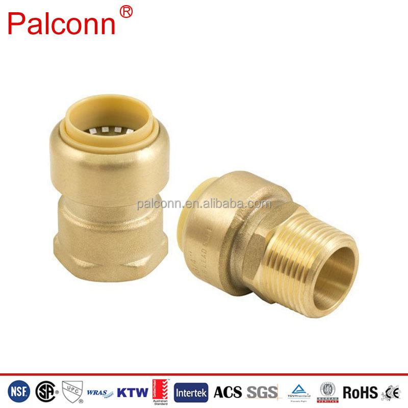 Lead free 16 20mm Sharkbite Style Push Fit Couplings <strong>Fittings</strong> with DR Brass New