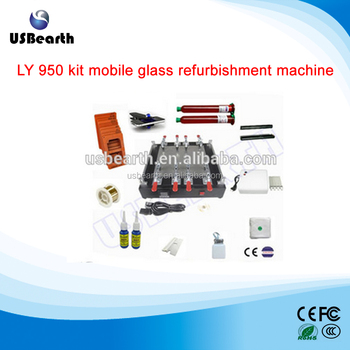 LY 950 kit mobile glass refurbishment machine for LCD touch screen cell phone
