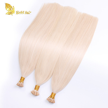 Wholesale Human Hair Extensions Remy Blonde I Tip Hair
