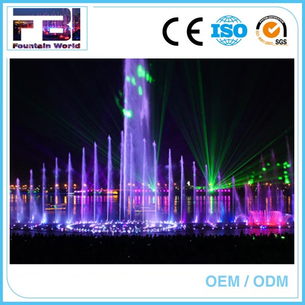 polyresin music fountain music fountain big size floating fountain