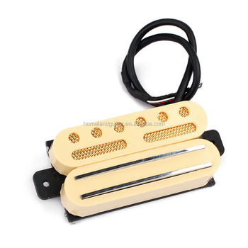 e489ae6fdb74b3 Dual Hot Rail Humbucker and Anlico V Pickup 4 Wire for Electric Guitar