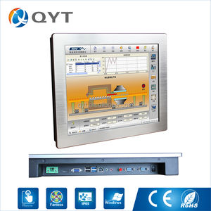 Chinese manufacturer of 17 inch industrial touchscreen panel pc with Celeron 3855U