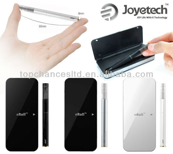 Most Popular Original Joyetech eRoll ecigs in Black/White/Silver Stock Offering