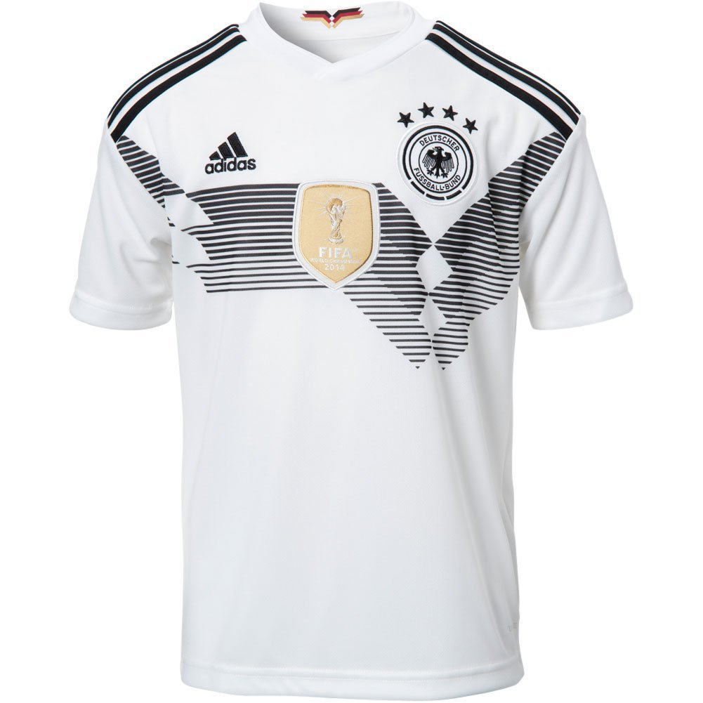 12a423e88 adidas Youth Germany 2018 Home Replica Jersey