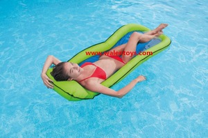 inflatable mesh pool lounger.mesh pool floating mattress