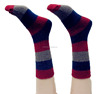 high quality striped men OEM anklet socks