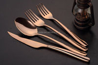 wholesale gold cutlery for restaurant