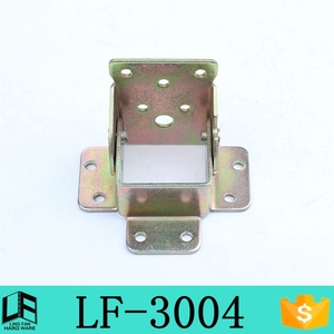 Lingfan 90 degrees self-lock folding table legs hinge , locking hinged bracket LF-3004