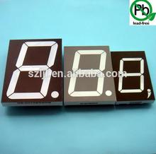 Wireless Table Clock Led 1 Digit 7 segment Display led number display