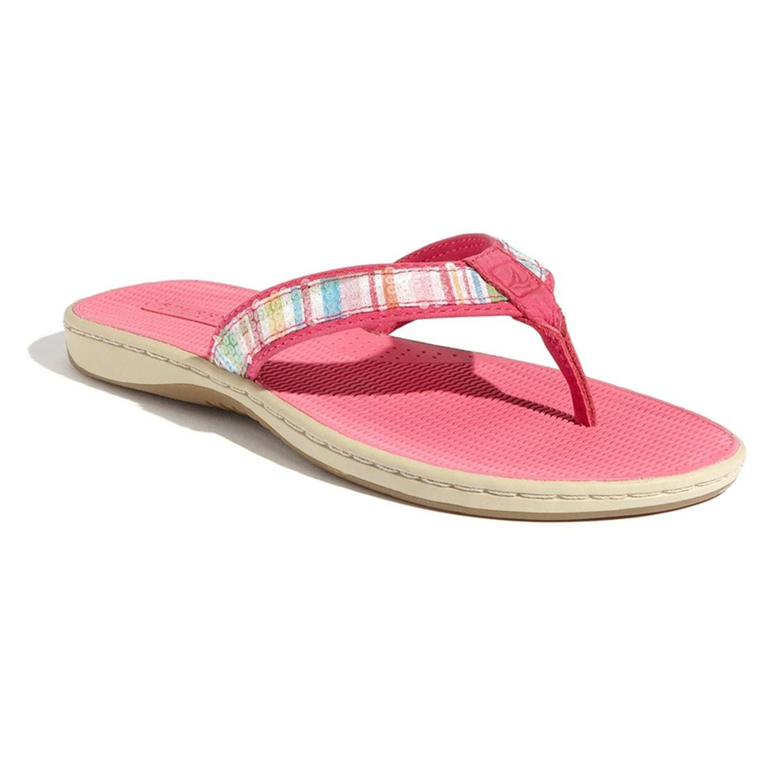 2debc6fbc7d Get Quotations · Sperry Top-Sider Tortola Womens Pink Sandals