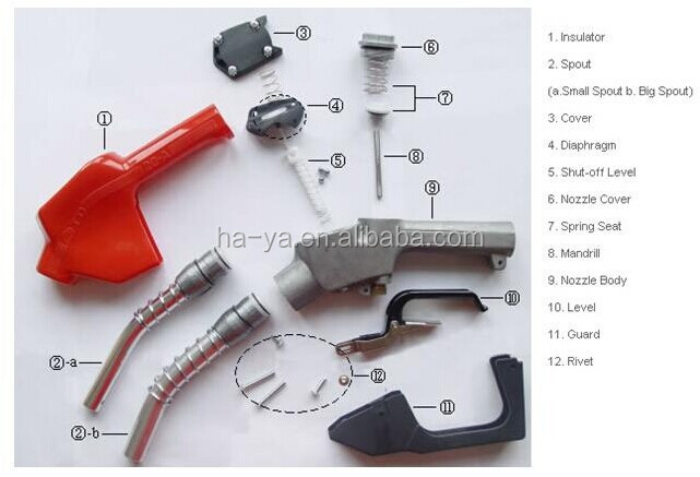 Fuel Dispenser Parts/fuel Nozzle