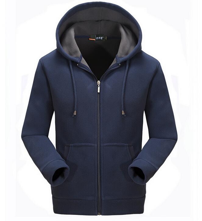 362c9dfa84da9 Get Quotations · High Quality Men's Outdoor Warm Sportwear Hoodie Cardigan  Hooded Ziper Sweatshirt Winter Sport Suit Jogger Set