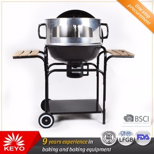 Fancy Design Outdoor Pizza Charcoal Kettle Grill Wood Fired Pizza Oven