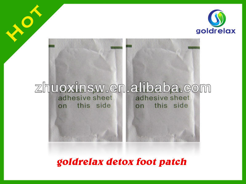 Salable Goldrelax hot sale removing the toxic while you sleep detox foot plaster