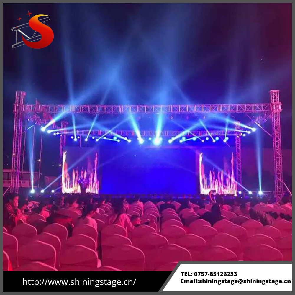 global boxing sport ground system lighting support ring aluminum truss