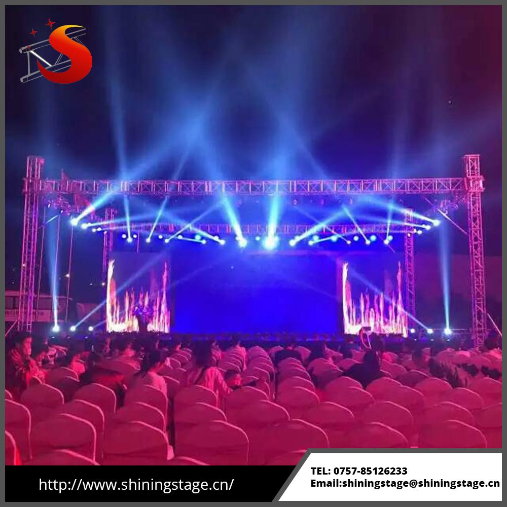galery lighting equipemnt portable stage flightcase lightweight mobile equipmentstage lighttruss truss stages democraciaejustica