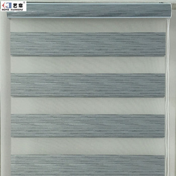 zebra roller shade white zebra canada market hot sale day and night double layer project made to measure cutting zebra roller market hot sale day and night double layer project made to
