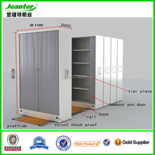 High Quality Electronic Mobile Shelving Storage System File Compactor For Archive