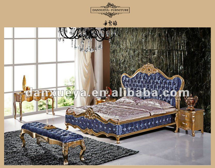 338bdb5bc2bc italy synthetic leather wood carved luxury bed room furniture in china  foshan