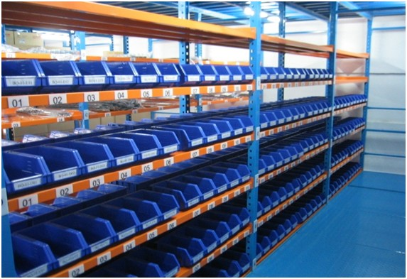 Retail Auto Spare Parts Shelving For Handware Warehouse
