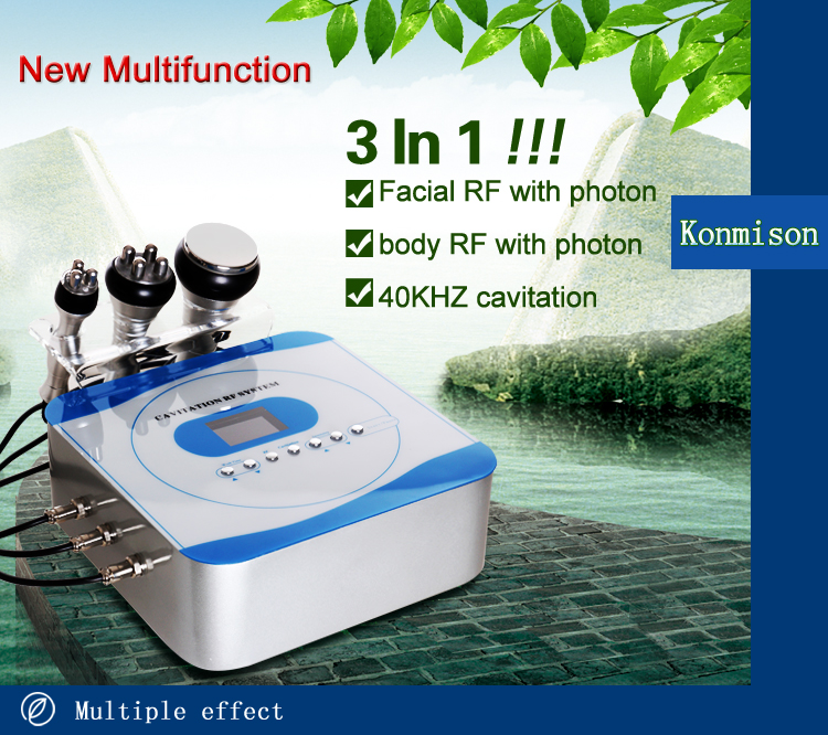 Technology cavitation rf slimming weight loss slimming beauty equipment