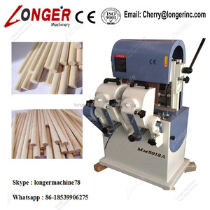 Good quality Round Wood Rods Sticks Polishing Machine