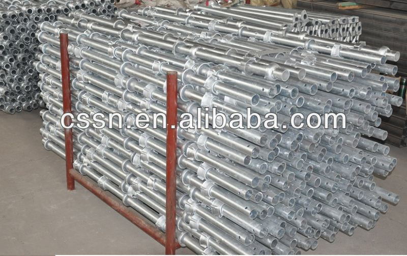 Chinese Q235 Steel Cuplock Scaffolding For Bridge
