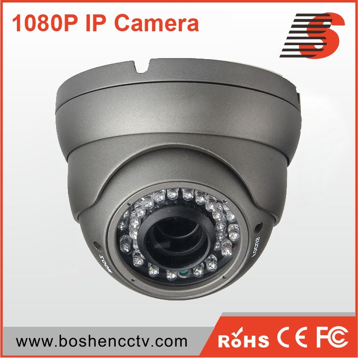 Boshen Wholesale best price 1080p mini vandal proof ir led dome camera with free cms app
