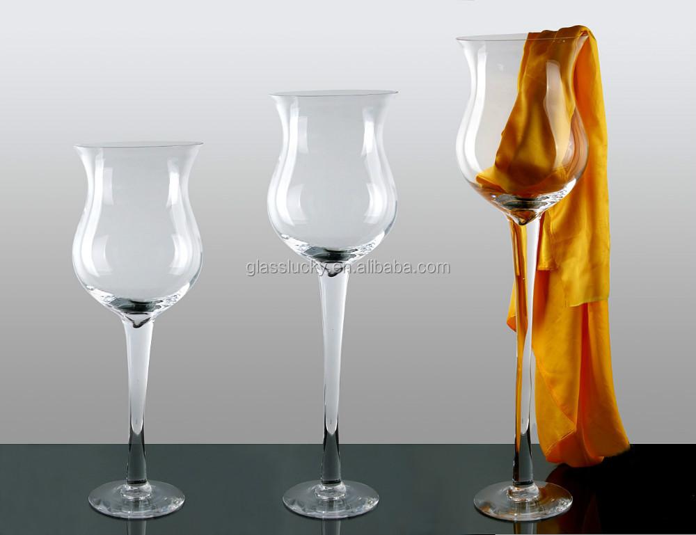 Wholesale Giant Wine Glass Vase For Wedding Decoration Buy Giant