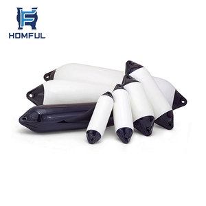 Marine Yacht Accessories Double Eye Pneumatic Marine Boat PVC ship rubber fender boat Fender