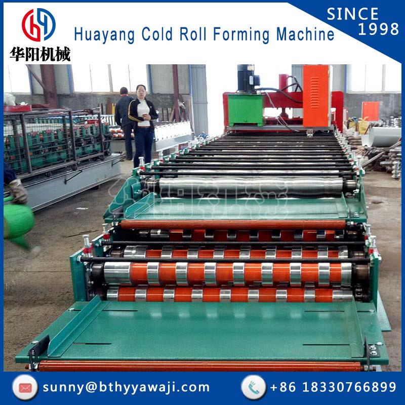 Hot selling double profile machine (Glazed title + T type)