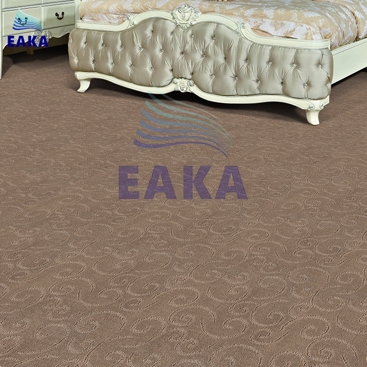 EAKA high quality cut loop decorative pp yarn durable and exhibition low prices alibaba online jacquard used hotel carpet