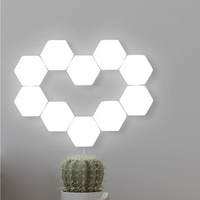 2019 New creative Quantum lamp touch sensitive lighting magnetic modular hexagons Honeycomb shape DIY home decor