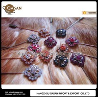 Wholesale Assorted Colors Flower Muslim Hijab Scarf Pins