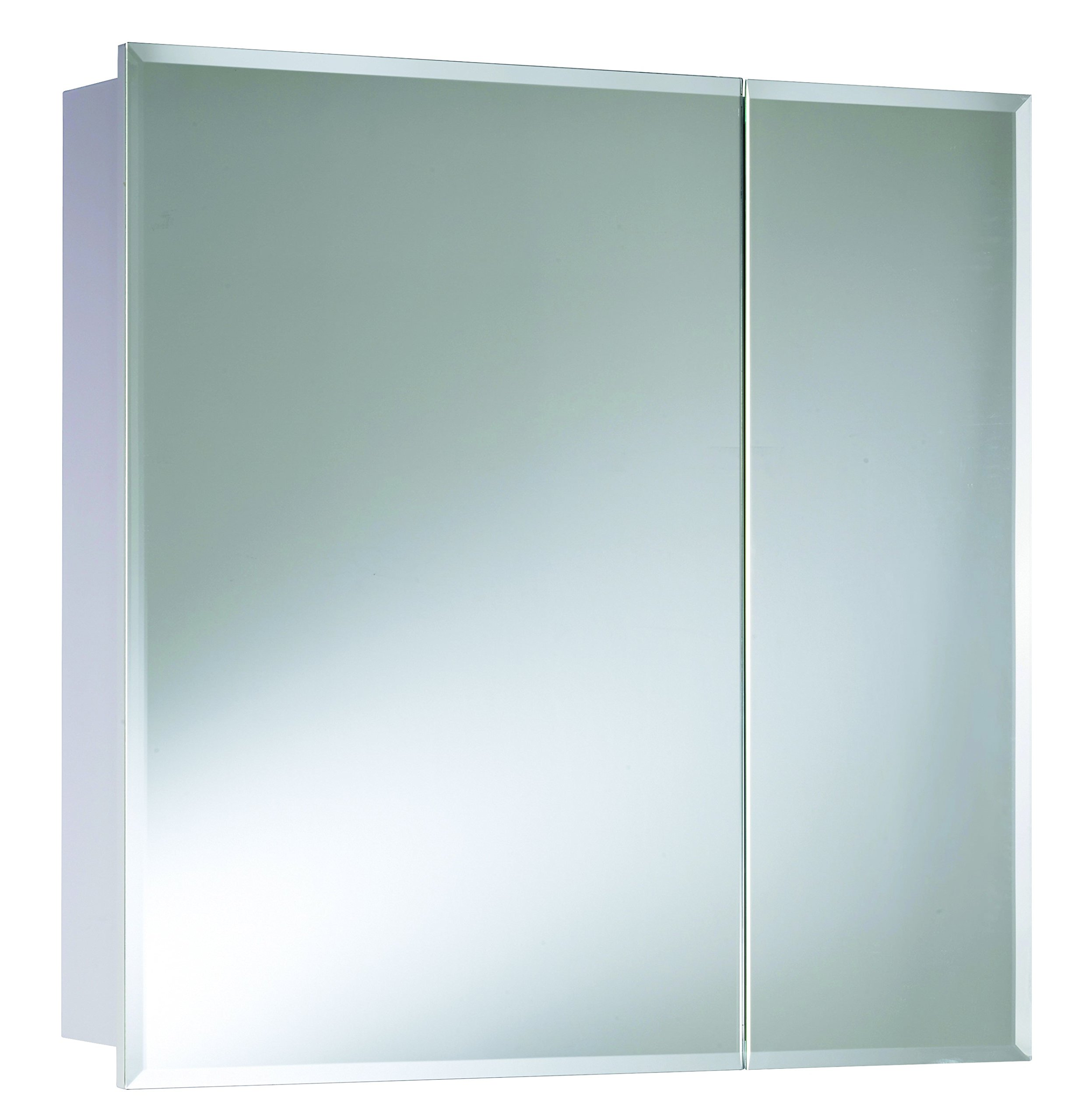 Croydex Wellington 24-Inch x 24-Inch Double Door Bi-View Cabinet with Hang 'N' Lock Fitting System
