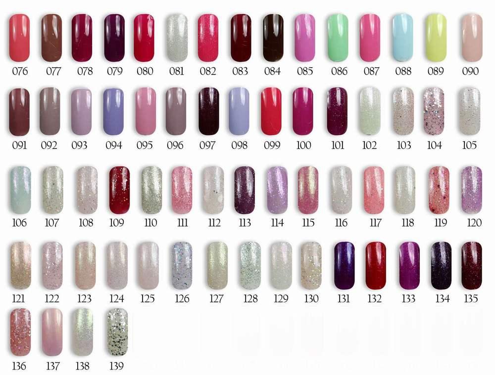 Florales Nails Color Gel Polish/ Color Nails Gel Polish/gel Nail ...
