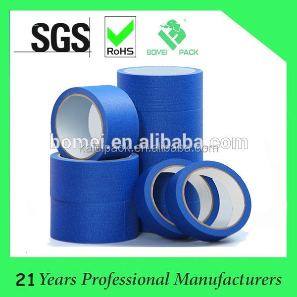 No residue easy mask heat resistant automotive painting masking tape with strong adhesion