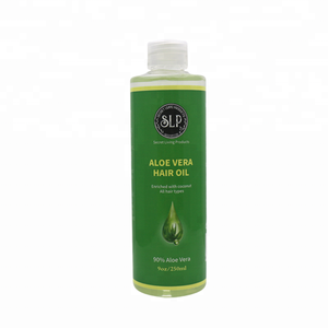 Private label Aloe Vera Natural Organic Salon & Hair Smooth Care Regrowth Oil