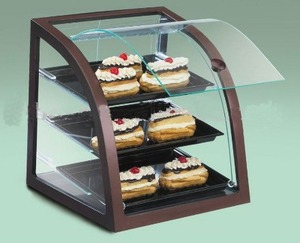 Custom 3 or 4 tiers Acrylic Bread/Cupcake/Donut/Bakery Display Stand Case Perspex Cake Cabinet Plexiglass Food Box
