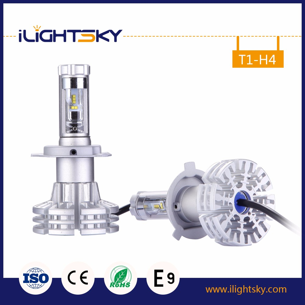 Big Promotion High Power LED Car Vehicle Auto DRL philip Headlight Head Lights Lamp Bulb h4 DC12V White or blue