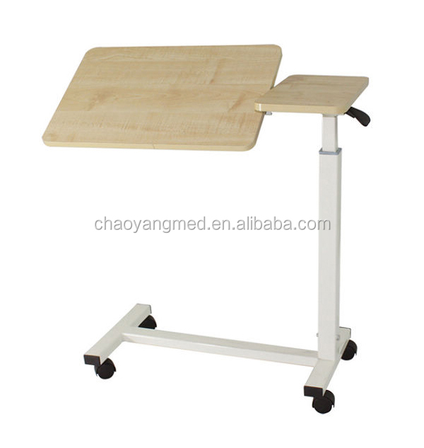 Medical Rolling Table Hospital Bedside Tables Over Bed With Wheels Cy H814