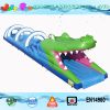 Crocodile Belly theme 18m/59ft long largest inflatable water slip n slide for kids and adults