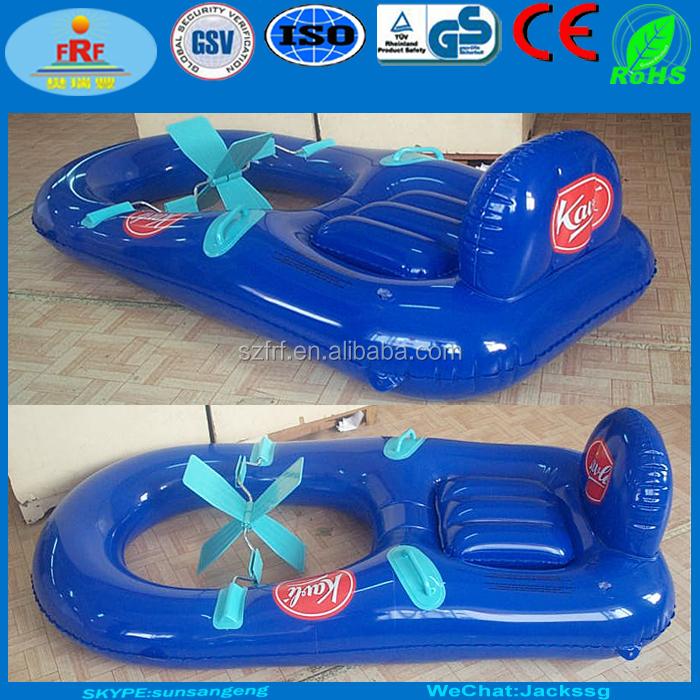 Aufblasbare tretboot aufblasbare tretboot for Aufblasbares schwimmbecken angebote