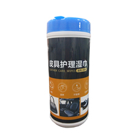Car Care Cleaning Non-Woven Cotton Wipes,Unscented Shoe Cleaning Wipes Disposable Wet Tissue