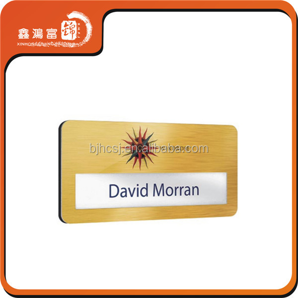 promotional plastic magnetic reusable hotel badge